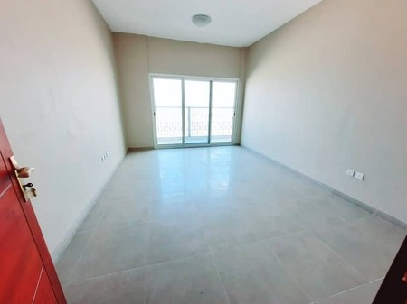 Brand new 3bhk apartment with balcony wardrobe just 50k in telal city sharjah
