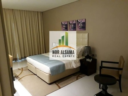 Luxurious Fully Furnished Spacious 1Bed Room With Balcony Pool Gym 29000
