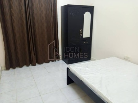 Easy Exit to Dubai only last unit of 1Bhk Apartment With Balcony Central A. C. Just 2500