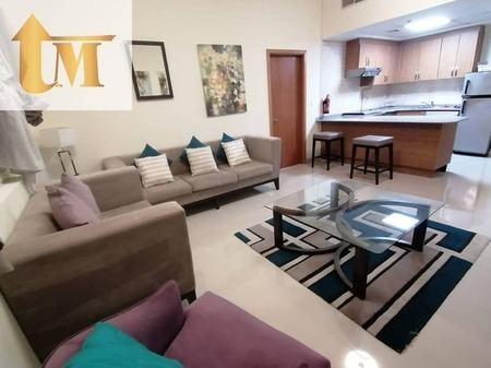 Fully Furnished 1 Bedroom For Rent In Jubel Ali Downtown