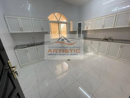 Good condition bigger 02 bedroom hall for rent in al samha 40000Aed