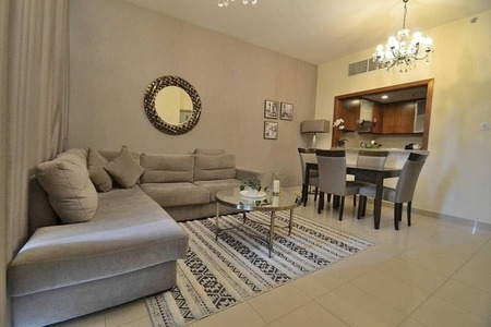 No early termination charge |12 cheques | Furnished 1 Bedroom | Dt