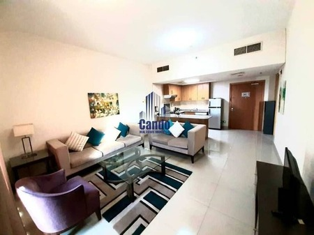 Chiller Free | Large Furnished One Bedroom with Balcony