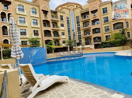1 Bedroom apartment available for rent in jvc