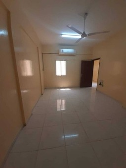 One of the largest spaces is an apartment of two rooms and a hall with a balcony with 2 bathrooms, one of the largest rooms. All services are located