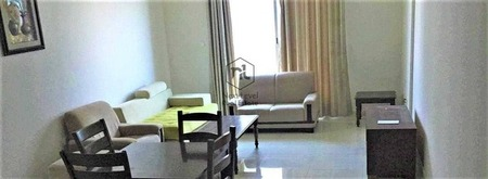 nice view large furnished 1 bedroom with balcony and parking