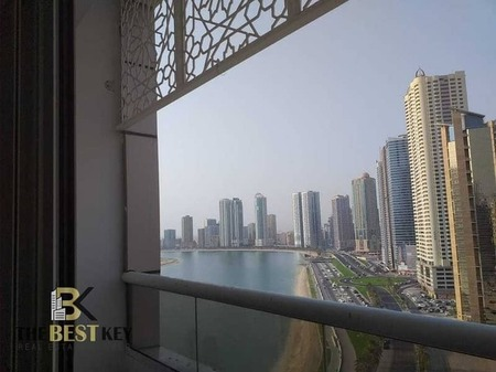 For Rent 1 Bedroom Apartment with Balcony / Great View / Gym and Pool Amenities