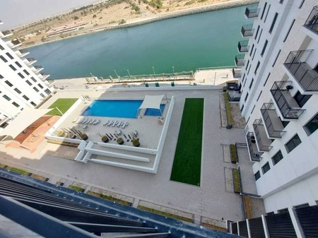 Brand New 1 Bedroom Hall Kitchen With Balcony And Sharing Pool At Yas Island Water's Edge