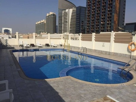 Chiller A. C Free 3Br With Balcony Only 73K in 6 Cheques , 7 Mints Walk Burjuman Metro Station.