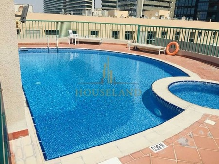 Chiller A. C Free 1Br Without Balcony Only 43K in 6 Cheques , 7 Mints Walk Burjuman Metro Station.