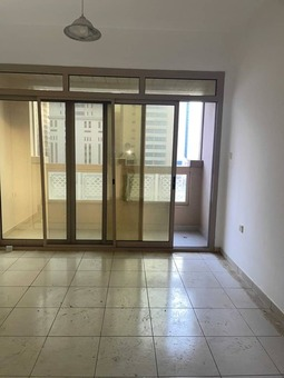 a/c chiller+one month+parking free offer 2bhk just in 38k with gym pool free wardrobe master bedroom and balcony near to ansar mall in al nahda shj