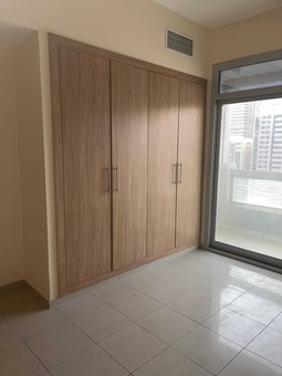 chiller a/c+one month+parking free offer 3bhk just in 51k with gym pool wardrobe master bedroom maidroom balcony near to ansar mall in al nahda shj