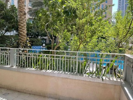 1 Bedroom | Spacious Terrace with Pool View