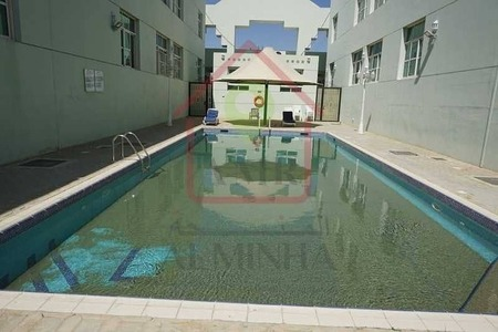 Spacious 2 Bedrooms With Pool & Gym in 6 Payments