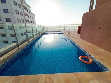 Brand New Sea View Spacious 1-Br Rent Only 27k/Yr